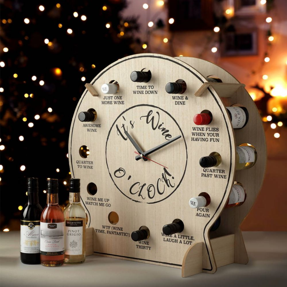 Wine Advent Clock